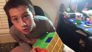 SOLVING THE WORLDS BIGGEST 3x3!!!