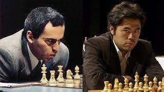 Шахматы: Гарри Каспаров ЗАДАВИЛ БУЛЬДОЗЕРОМ Накамуру: позиционный шедевр!