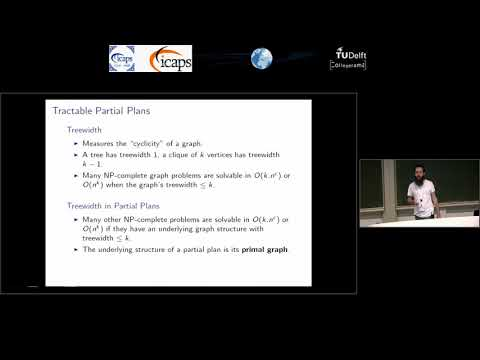 "ICAPS 2018: Max Waters on ""Plan Relaxation via Action Debinding and Deordering"""