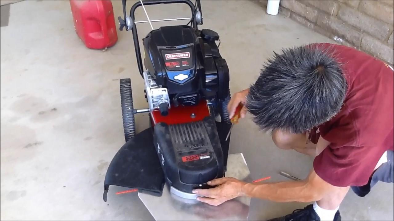 Husqvarna & Craftsman & Poulan Pro Walk-behind trimmers repair and  maintenance