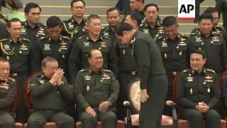 Thai military junta to present new constitution