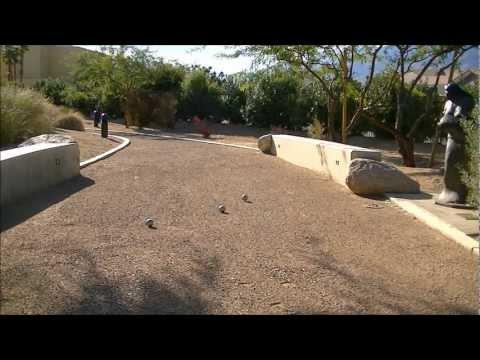Petanque Public Space Terrains: PSP Convention Center Sculpture Garden