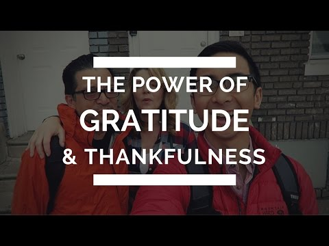 Christian Vlogger: The Power of Gratitude and Thankfulness