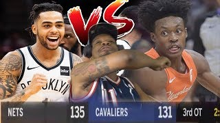 THE WEAKEST TRIPLE OVERTIME GAME EVER! NETS vs CAVS HIGHLIGHTS