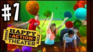 Happy Action Theater  - #1 - Joey Graceffa Missglamorazzi Jason Munday - Xbox 360 Kinect