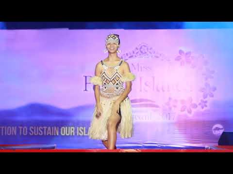 Miss Pacific Islands 2017 Talent Competition- Miss Solomon Islands