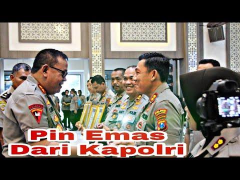 Kapolres Lumajang Terima Penghargaan PIN Emas Dari Kapolri
