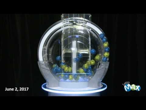 Lotto Max Draw June 2, 2017