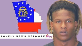 Ghetto GA~ EX Falcon Justin Crawford hit with incest charges after being caught w/a 12 yr old girl