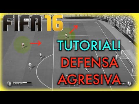 FIFA 16 TUTORIAL DEFENSA AGRESIVA! (COMO JUGAR CONTRA POSESION!)