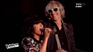 The Voice 2013 | Garou, Bertignac, Pagny & Jenifer - Allumez le feu (Johnny Hallyday) |  Prime 3