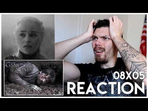 Download Game Of Thrones : Season 8 Episode 5 REACTION (LA COMPAGNIE CLAQUÉE) & Review !