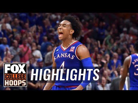 Kansas vs Nebraska   Highlights   FOX COLLEGE HOOPS