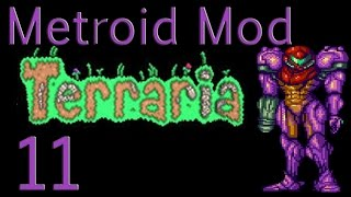 Let's Play Terraria Metroid Mod Ep 11 - Putting Phantoon Down