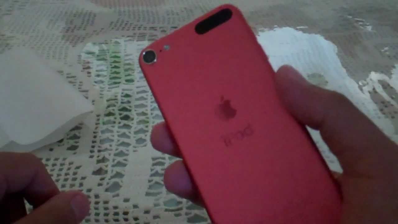 Ipod Touch 5th Generation Unboxing 5g Gen Apple 6 64gb Pink Youtube