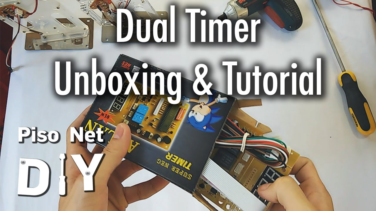 Pisonet Timer Wiring Diagram Wire Center Dual Pool Diy Unboxing And Tutorial Tagalog Youtube Rh Com Switch Intermatic