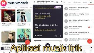 Aplikasi Music Lirik Dan Terjemahannya For Android Youtube