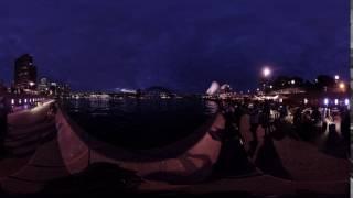 Insta 360 Pro 8K Low light 360 Time-Lapse   Sydney Opera House