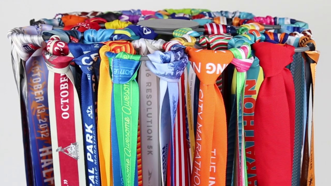 Gone For A Run's Exclusive Tabletop Race Medal Display!