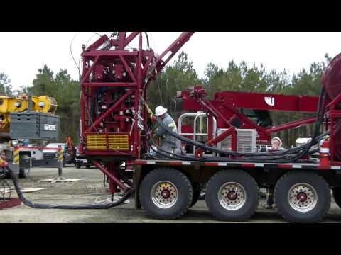 Panther Well Services - Coiled Tubing in Action in Texas