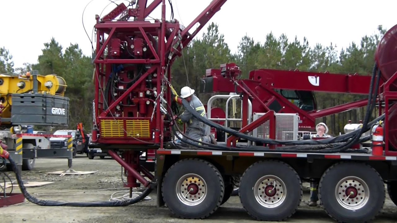 Coiled Tubing Services Texas : Panther well services coiled tubing in action texas