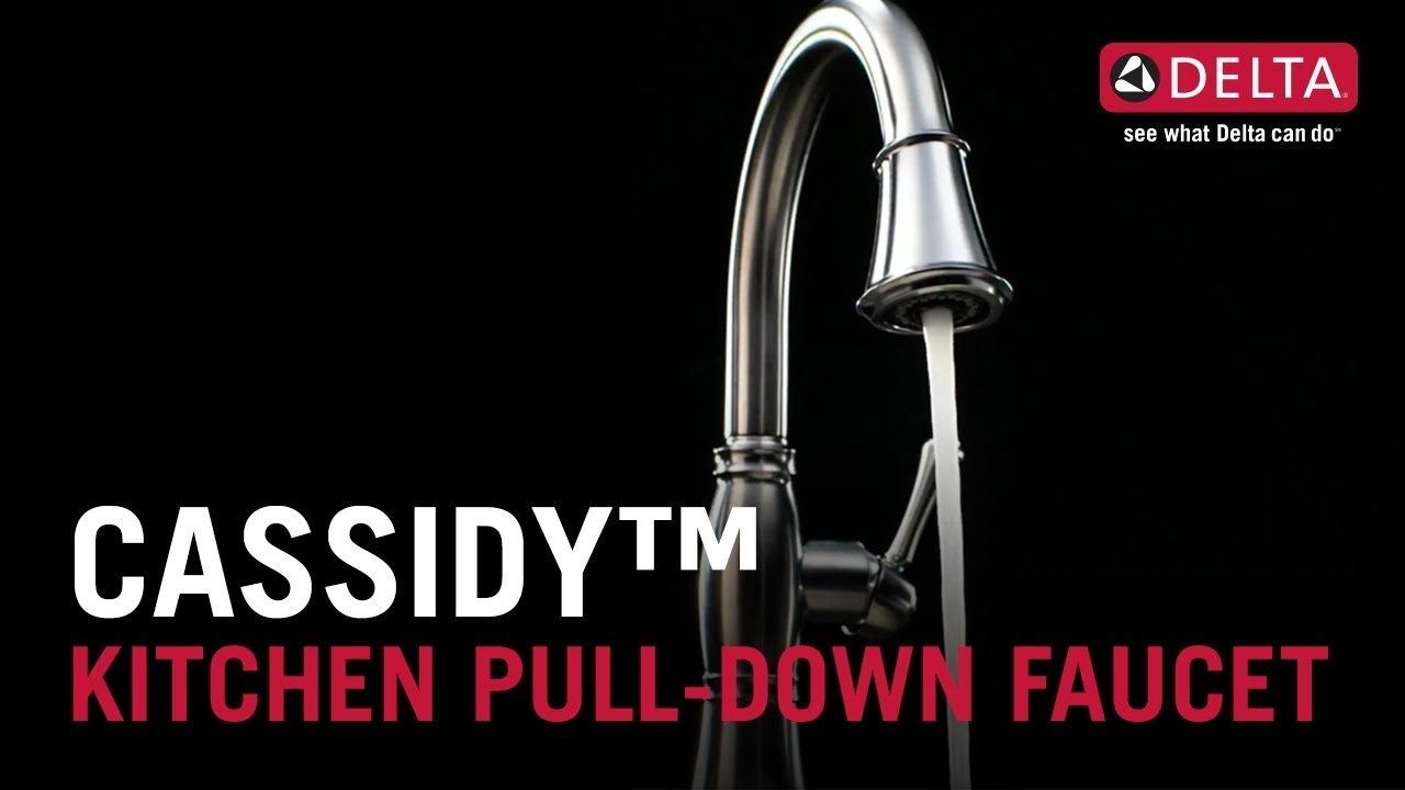 Cassidy™ Kitchen Pull-Down Faucet - YouTube