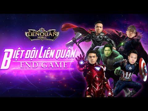 Biệt Đội Liên Quân : End Game . Khi 5 tuyển thủ đi troll và cái kết !