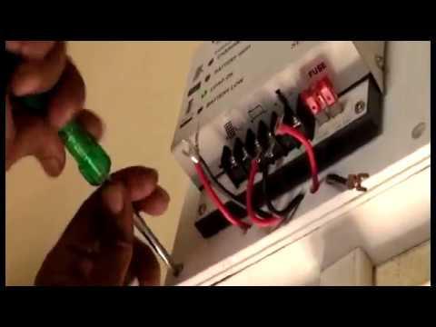 Solar Home System Installation