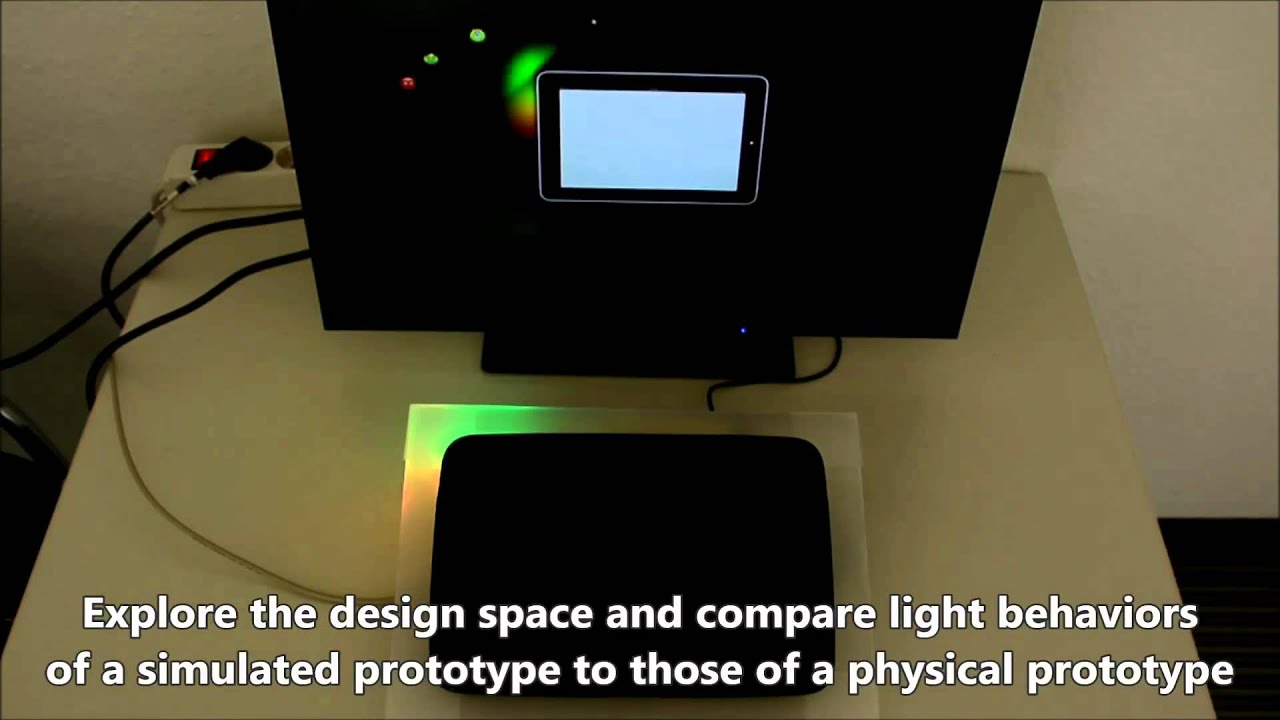 Exploring the design space of ambient light displays