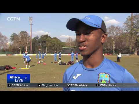 Next generation of S. Africa & W. Indies cricketers preparing for World Cup