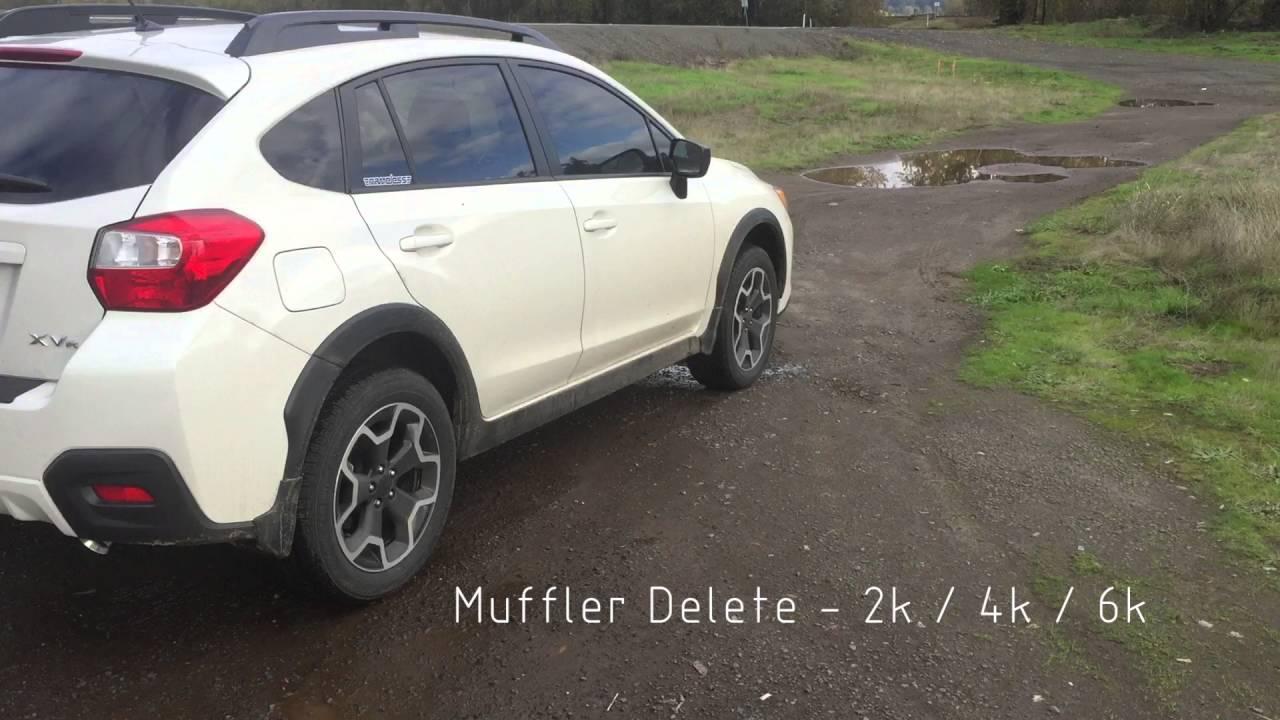 Axleback Exhaust - 2013-2017 Subaru XV Crosstrek / 2012-2016 Impreza Wagon