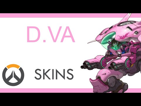 Overwatch - All D.Va Skins | Preview