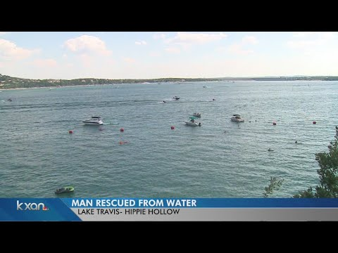Bystanders rescue near drowning victim at Hippie Hollow