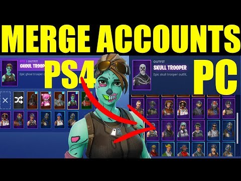 How To Merge Fortnite Accounts (On Ps4,Pc, Xbox, Switch