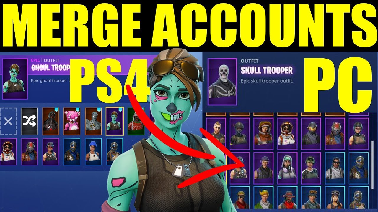How To Merge Fortnite Accounts (On Ps4,Pc, Xbox, Switch ...
