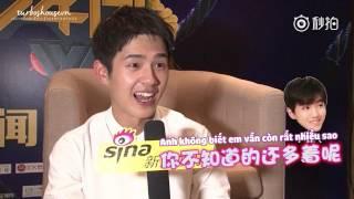 [VIETSUB] 170407 Sina Interview - Lưu Hạo Nhiên