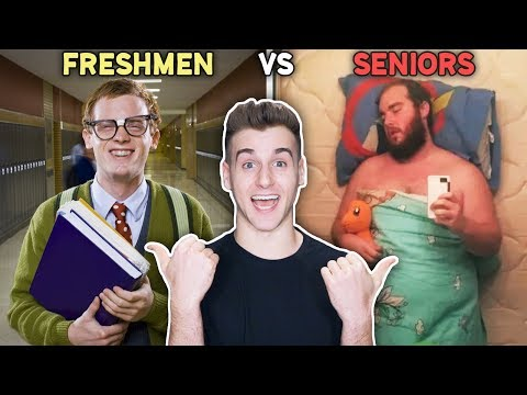 Highschool: Freshman Vs. Seniors!