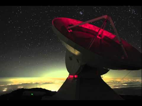 Time-Lapse of Large Millimeter Telescope at Work
