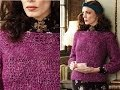 #29 Tunisian Pullover, Vogue Knitting Crochet 2013 Special Collector's Issue