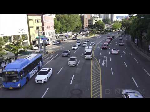 Seoul City Traffic - Free 4K Footage For Projects