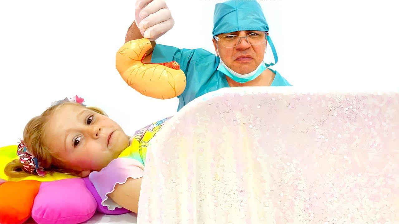 Download Nastya ve baba, ellerini yıkamanın ne kadar önemli olduğunun hikayesi