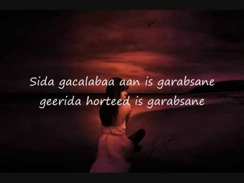 Farxiya Fiska Somali Lyrics Song Ruuxa gala abaal