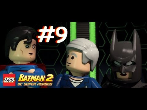 Lego Batman 2: DC Super Heroes - Part 9: Attack on LexCorp (3DS)