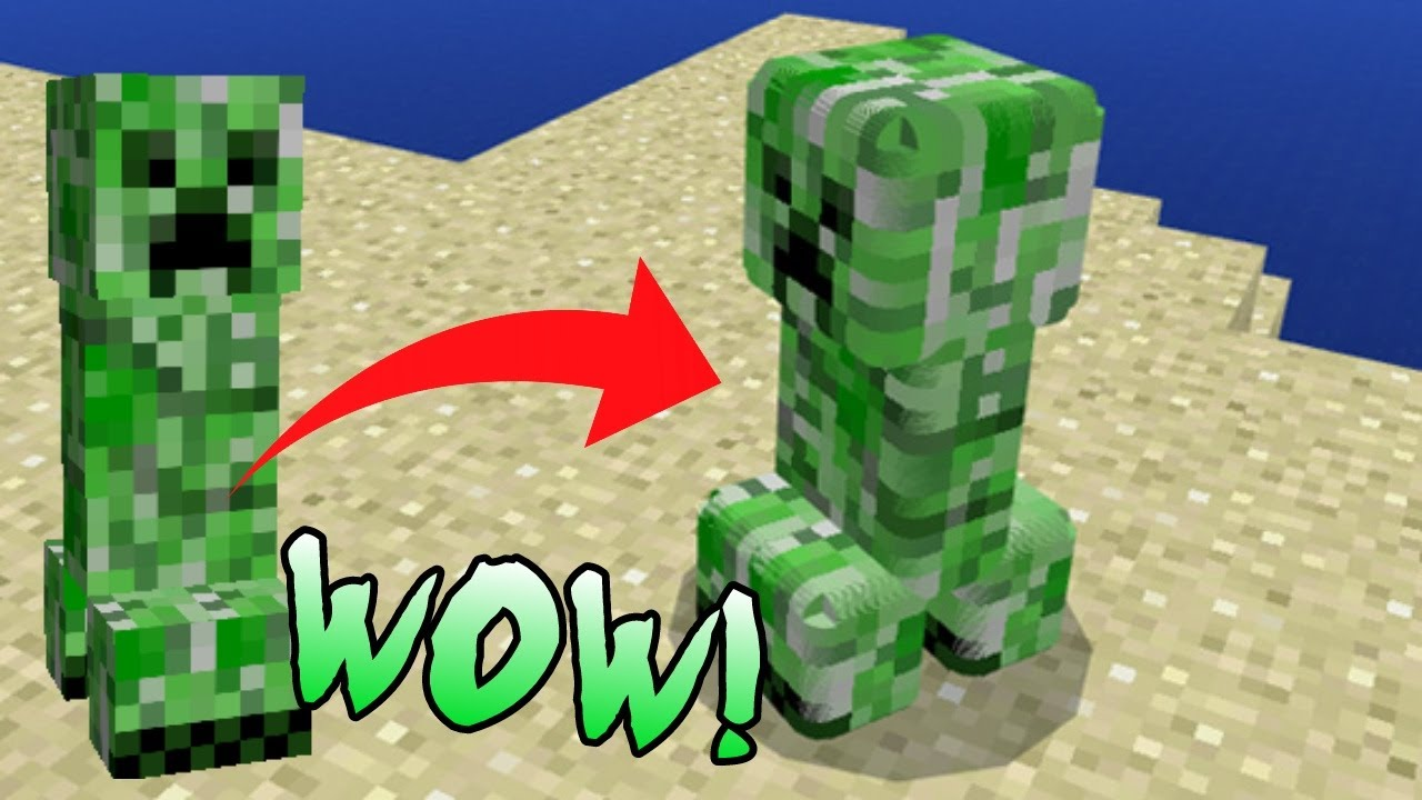 Minecraft PE SMOOTHER ANIMALS MOB D In MCPE Minecraft Pocket - Skins para minecraft pe de animales