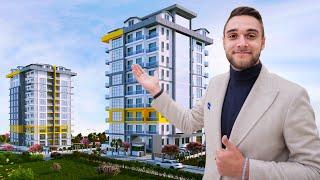 Недвижимость в Турции 2020 Новый жилой комплекс в Махмутларе Аланья Турция