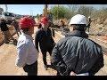 La obra de cloacas en Villa El Libertador avanzan a buen ritmo