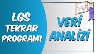 LGS Tekrar Programı Matematik | Veri Analizi