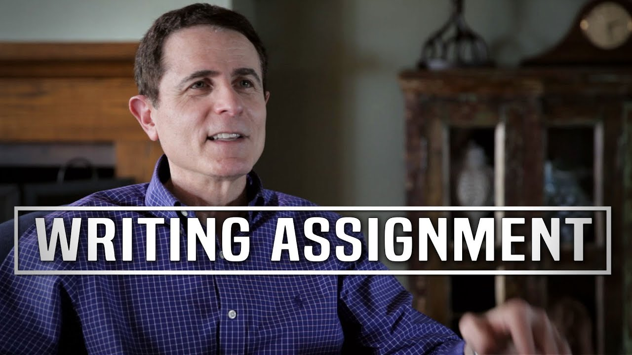Working On A Screenwriting Assignment by Gary Goldstein