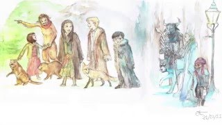 Narnia Tribute - Speed Painting