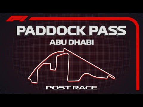 F1 Paddock Pass: Post-Race At The 2019 Abu Dhabi Grand Prix